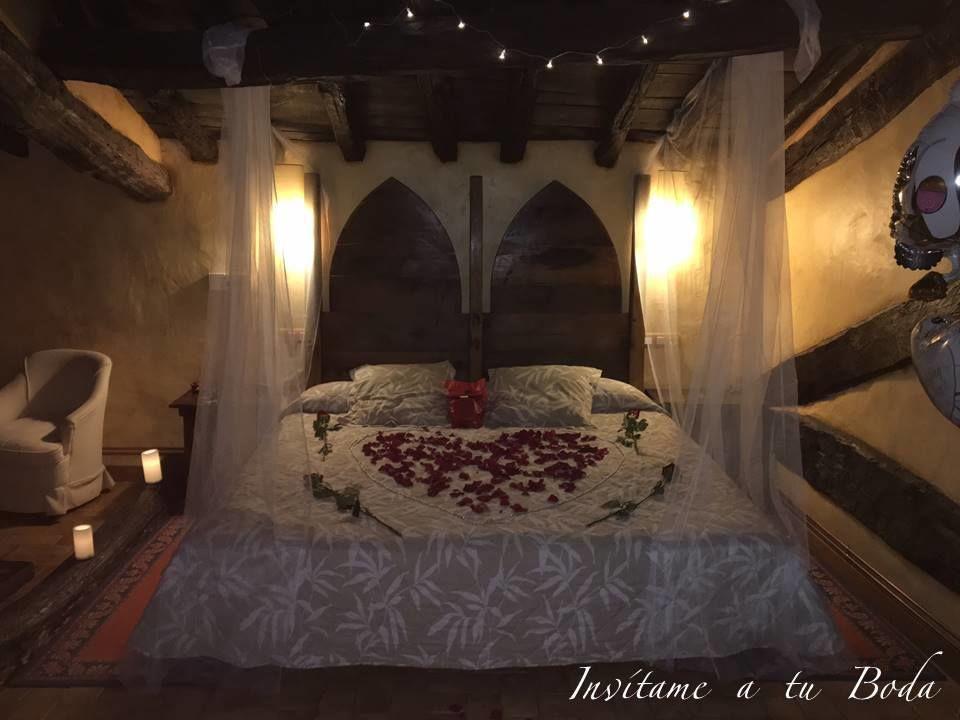 Habitación noche de bodas