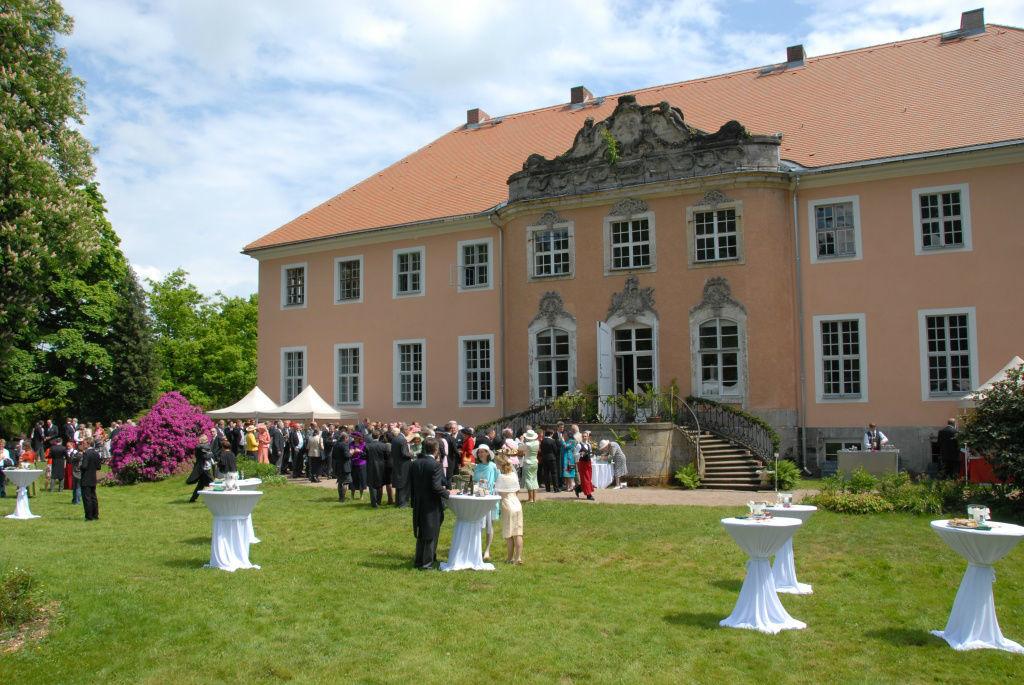 Großzügige Parkanlage, Foto: Schloss Reichstädt