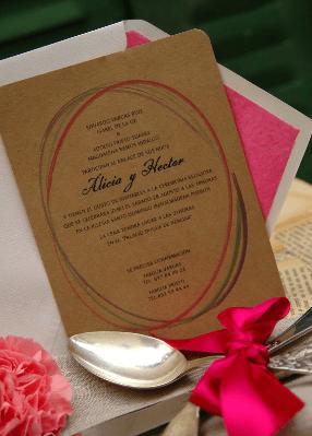 Invitación Eco-chic
