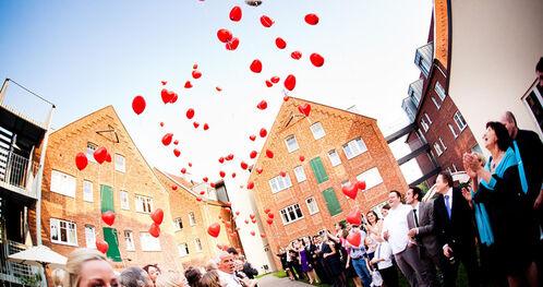 Beispiel: Luftballons, Foto: Landhotel Beverland.