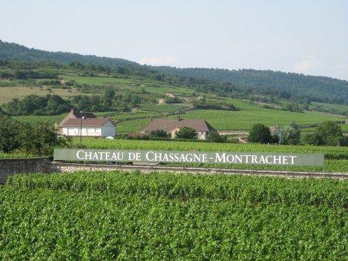 Vue du Château de Chassagne-Montrachet