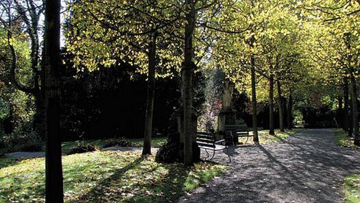 Beispiel: Parkanlage, Foto: Villa Boveri.