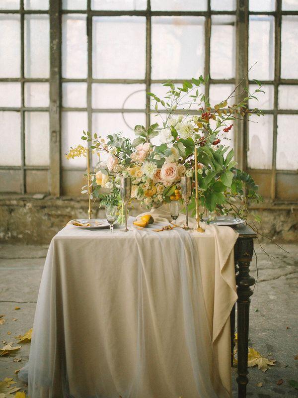 Оформление церемонии в особняке (специально для Botanica decor)