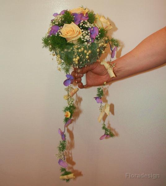Beispiel: Brautsträuße nach Ihren Wünschen, Foto: Floradesign.
