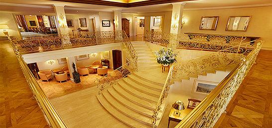 Beispiel: Treppenhaus, Foto: Colombi Hotel.