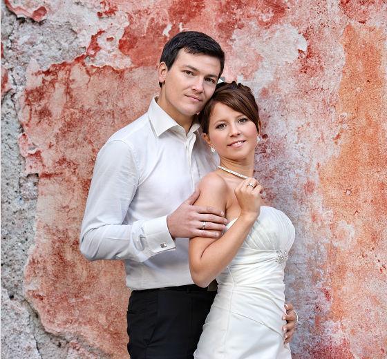 Beispiel: Brautpaar, Foto: Alba Make Up.