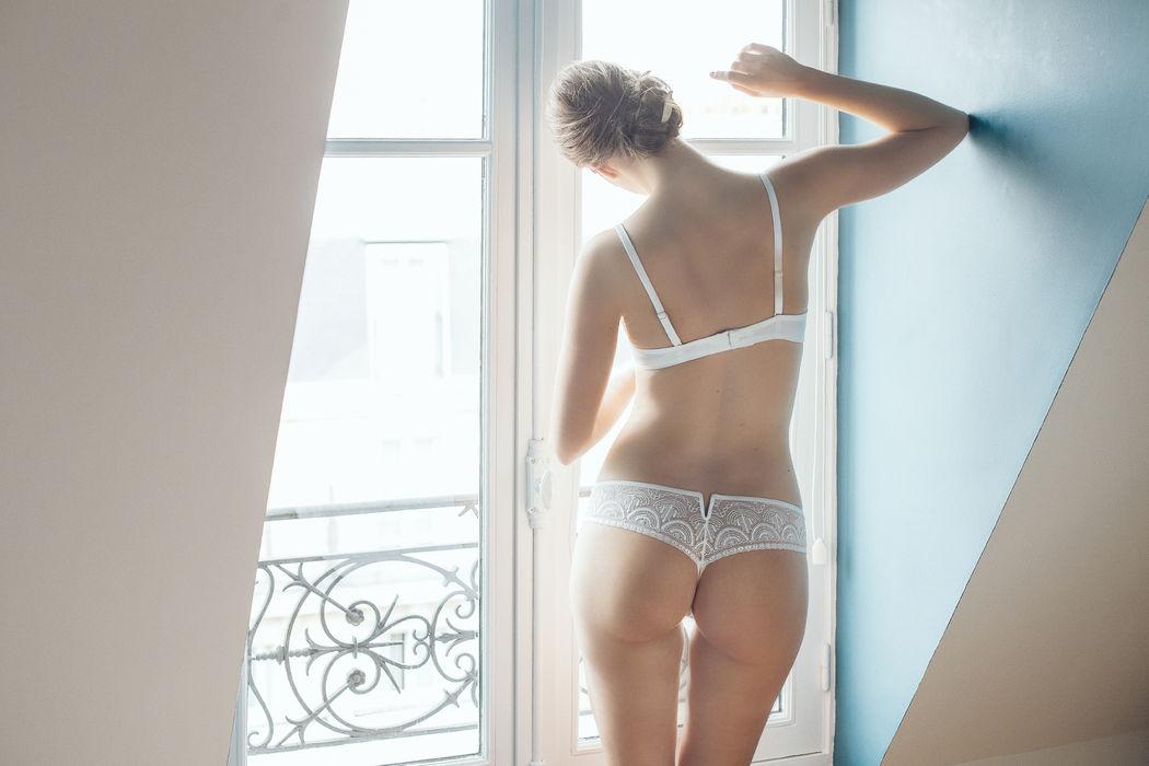 Atelier Modesti Lingerie Mariage - Dis Moi Oui! soutien gorge sans armature, String
