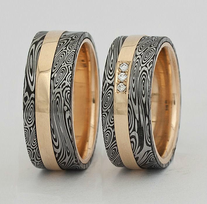 Beispiel: Gestalten Sie Ihre persönlichen Ringe, Foto: Joachim Bartz Schmuck.
