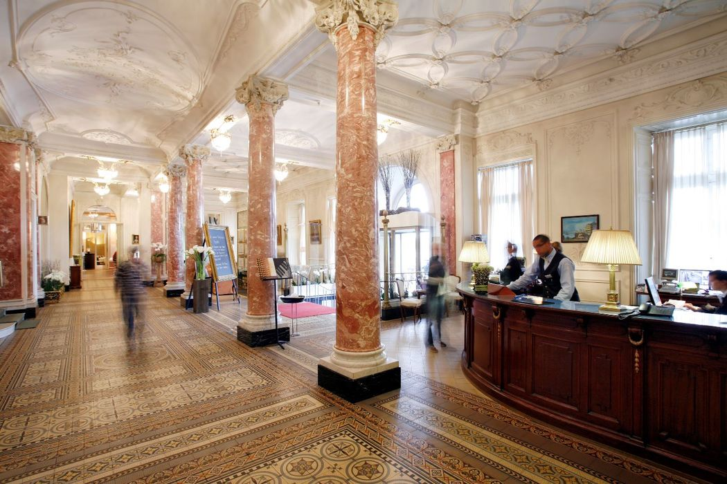 Lobby Foto: Hotel Schweizerhof Luzern