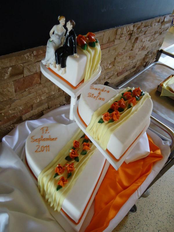 Beispiel: Kreative Tortenkunst, Foto: Tortenhaus.