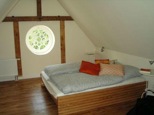Beispiel: Schlafzimmer, Foto: Gut Grubnow Rügen.