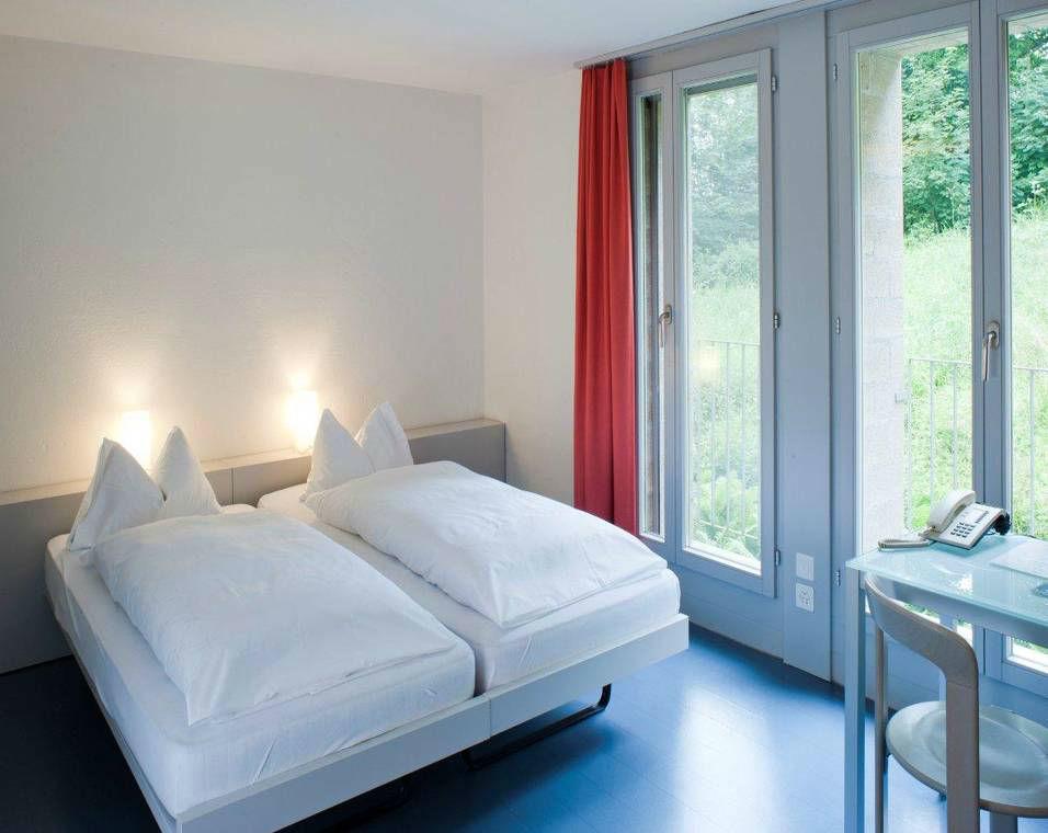 Beispiel: Hotelzimmer, Foto: Schloss Münchenwiler.