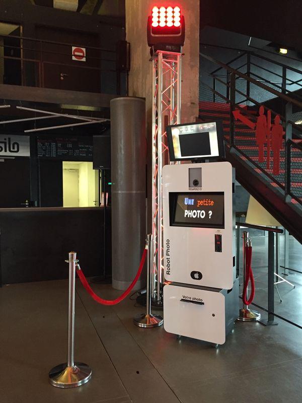 Animation Robot Photo Photobooth Marseille
