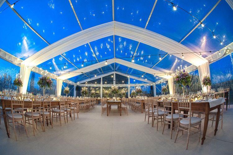 Casa della Sposa Verona. Tenda in cristal. Allestimento Country chic. Progetto Maria Grazia Wedding Designer. Catering Da Vittorio