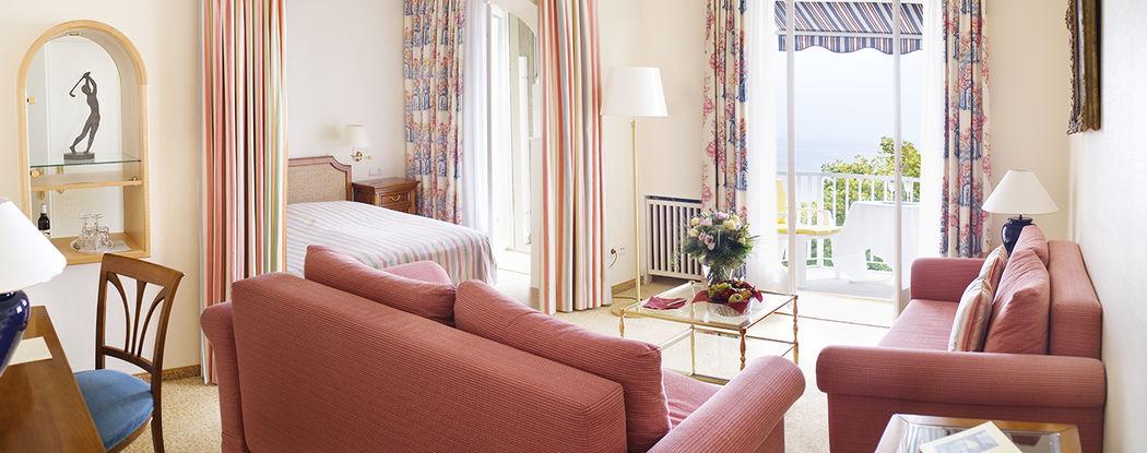Beispiel: Hotelzimmer, Foto: Hotel Bad Schachen.