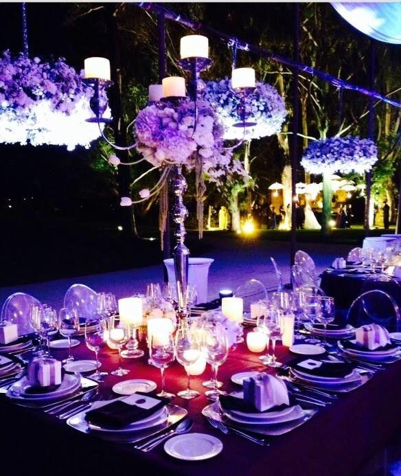 Centros de mesa que llenaran de brillo las mesas de tu Boda
