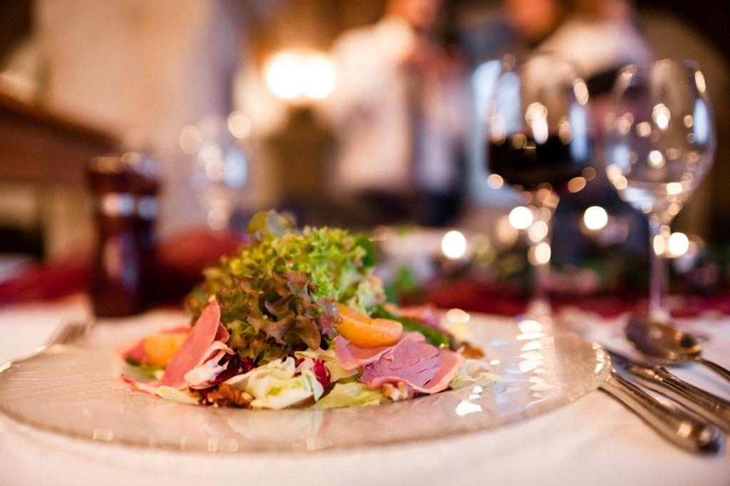 Beispiel: Kulinarisches, Foto: Landhotel Altes Zollhaus.