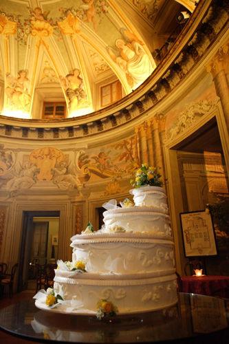 Torta nuziale - Villa Rospigliosi
