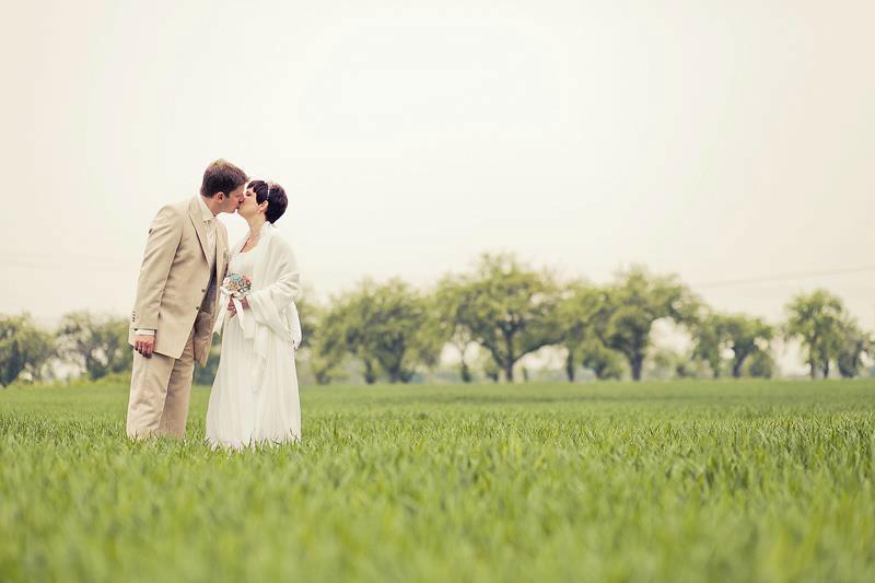 Beispiel: Portrait des Brautpaares, Foto: Romeoplusjuliet Photography.