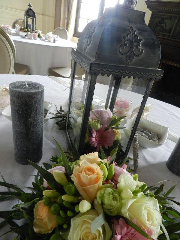 Décoration de  lanterne/Estelle Leclerc