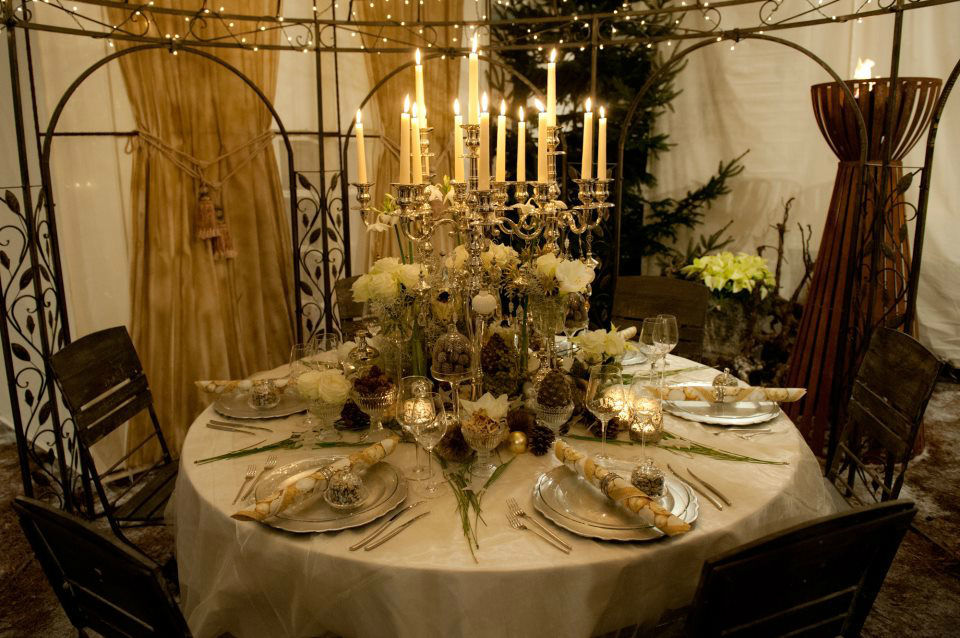 Beispiel: Dekoration Ihrer Hochzeitsfeier, Foto: Blattglanz.