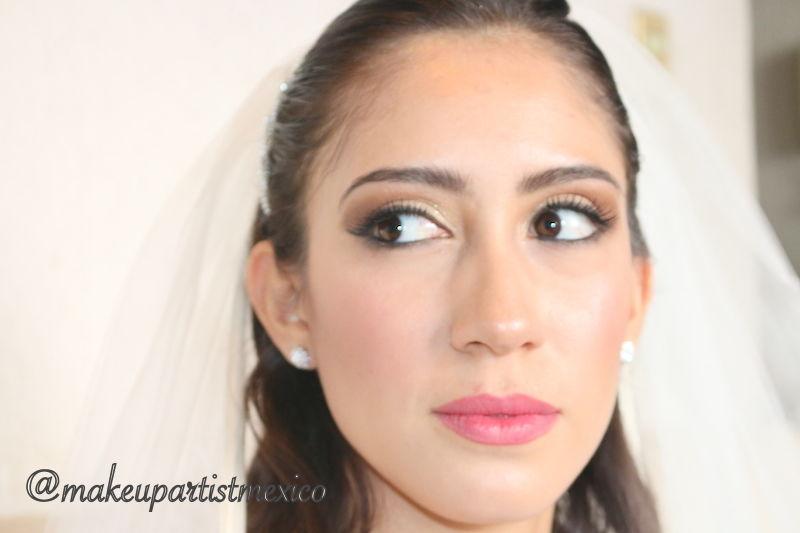 Look natural maquillaje de dia radiante. Makeup Artist Mexico