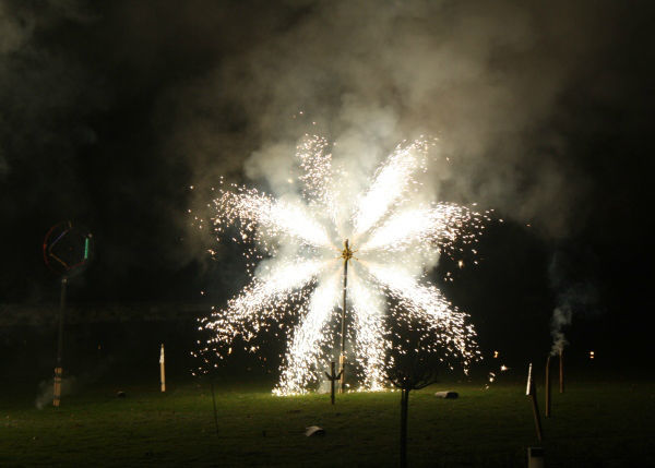 Beispiel: Feuerwerk an Ihrem Hochzeitstag, Foto: Schloss Schadau Thun.
