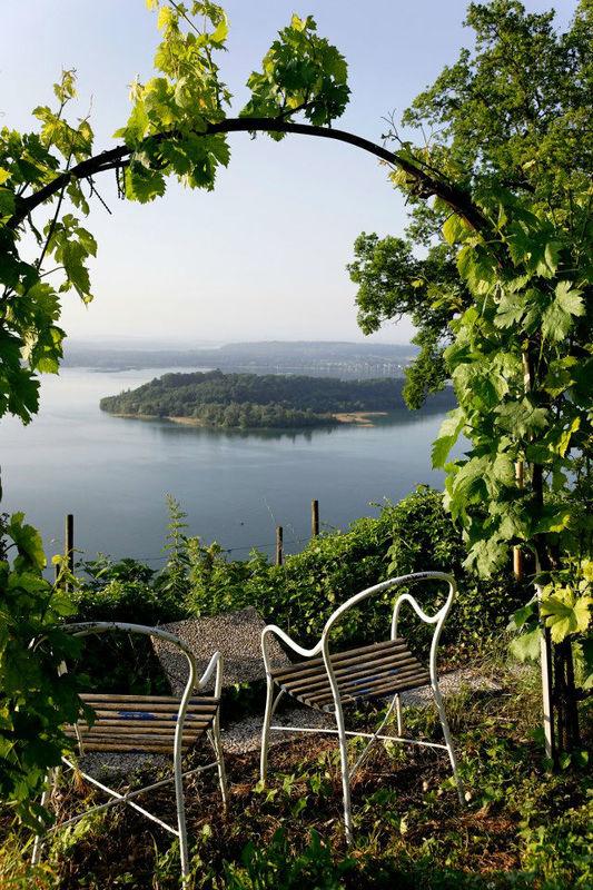 Beispiel: Ausblick, Foto: St. Petersinsel Restaurant & Klosterhotel.