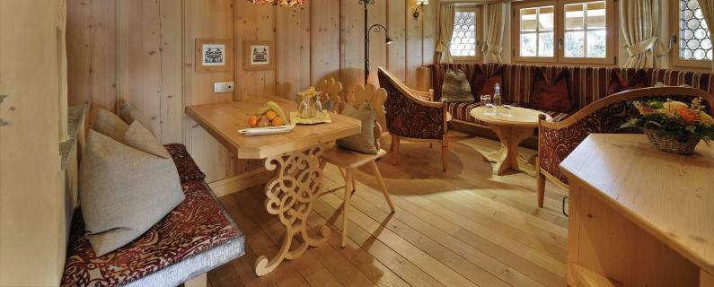 Beispiel: Ländliche Zimmerdekoration, Foto: Hotel Ermitage.