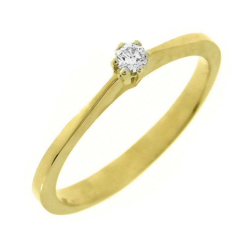 Beispiel: Verlobungsring Gold, Foto: Arauco.