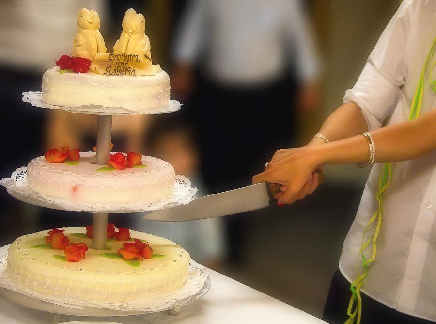 Beispiel: Hochzeitstorte, Foto: Jane4wedding.