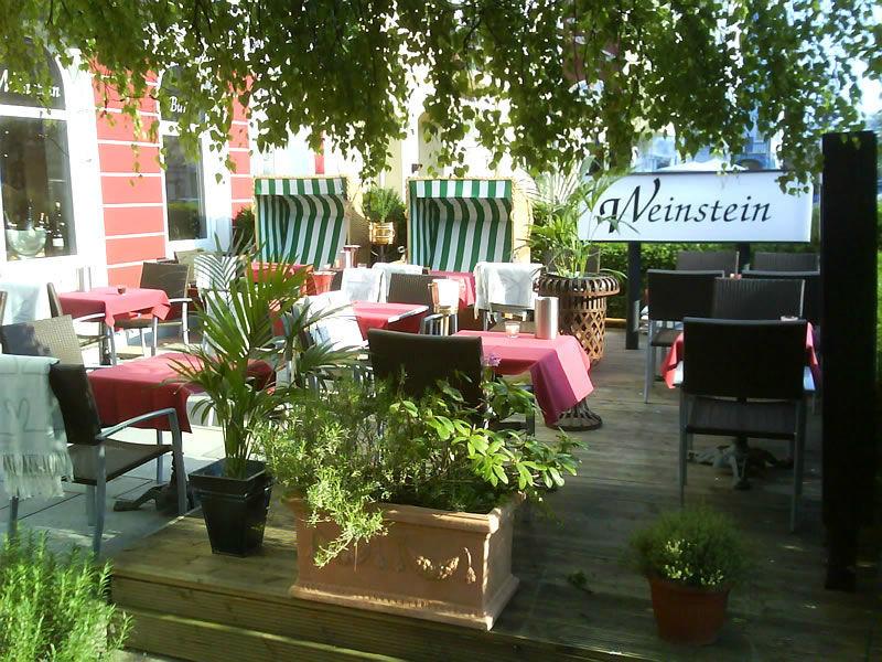 Beispiel: Terrasse, Foto: Restaurant Weinstein.