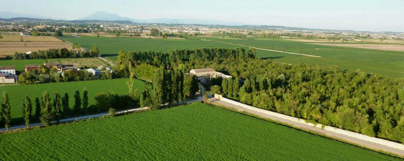Veduta aerea - Convento dell' Annunciata