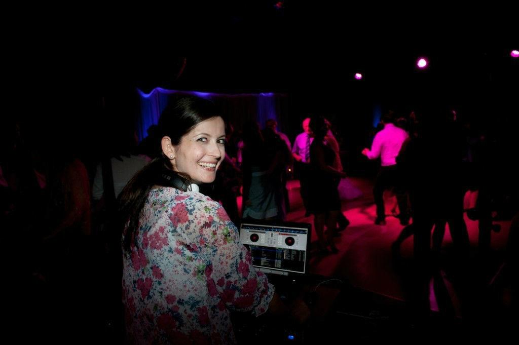 Beispiel: DJ Jutta, Foto: DJ Sven.