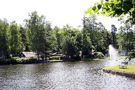 Beispiel: Ausblick, Foto: Waldbadgaststätte Weixdorf.