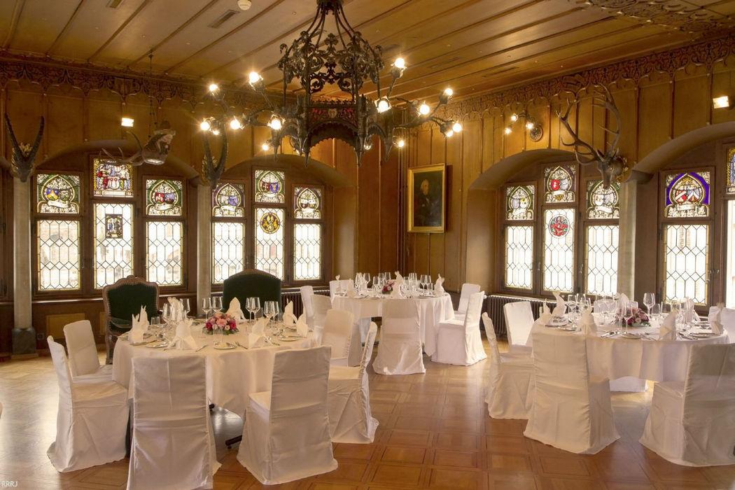 Beispiel: Hochzeitsbankett, Foto: Restaurant Rathaus.