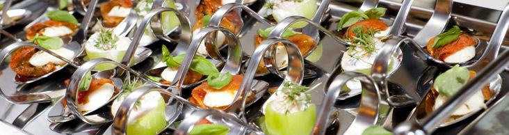 Beispiel: Fingerfood, Foto: Marktwirt Catering.