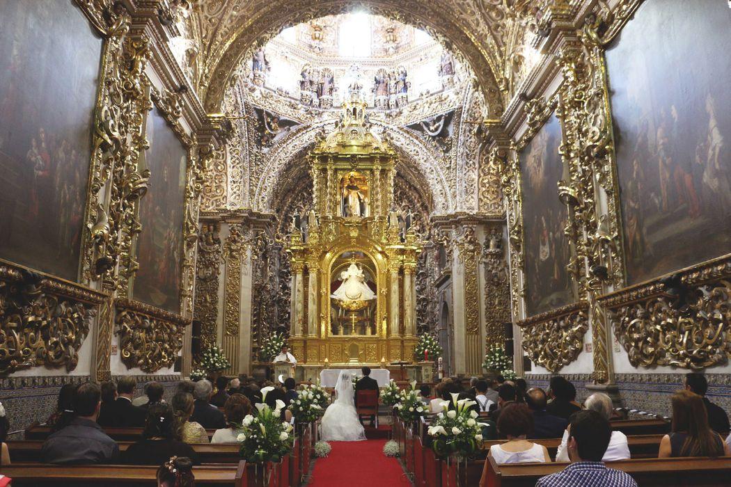 Capilla del Rosario, Puebla. Marylou&Mario