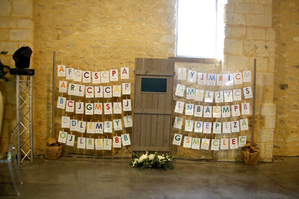 Plan de table by French Wedding Belles