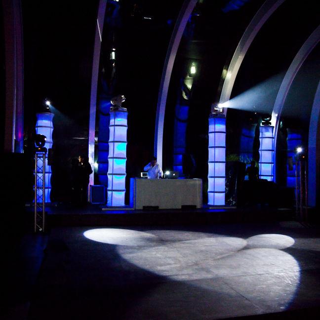 Columnas Iluminadas