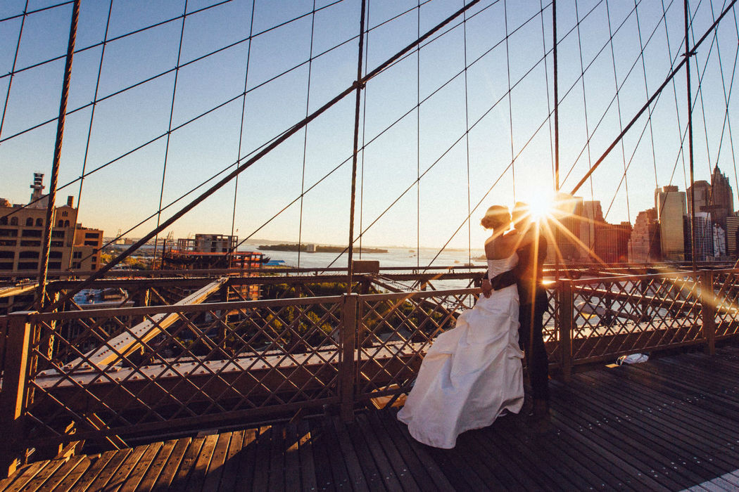 Beispiel: Paarshooting in New York, Foto:  International Wedding.