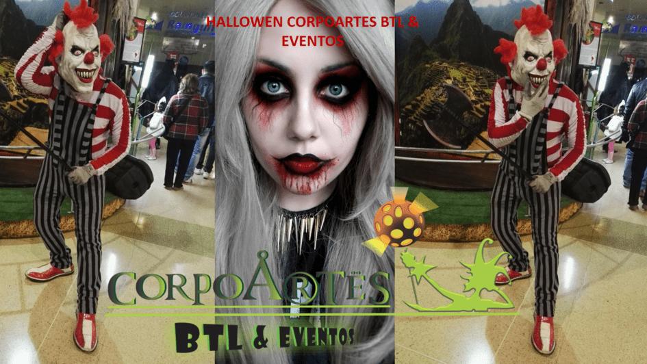 Realiza tu evento con personajes realmente espeluznantes durante este Halloween.