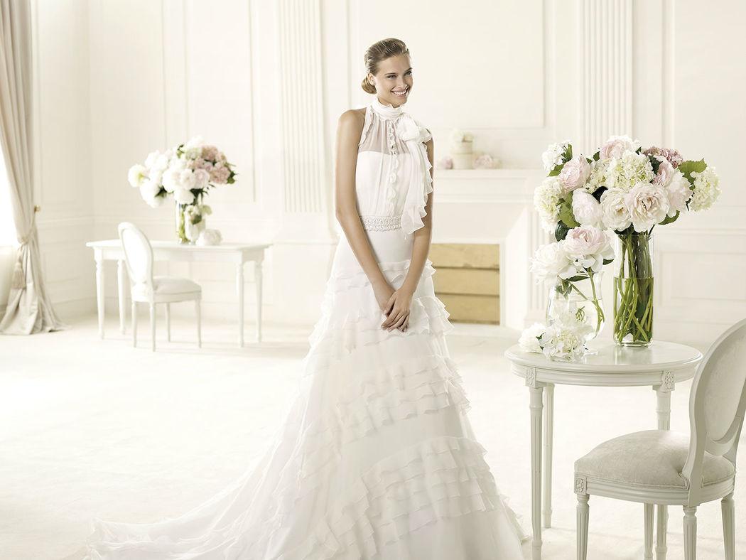 Beispiel: Wunderschöne Brautmode, Foto: Salon.