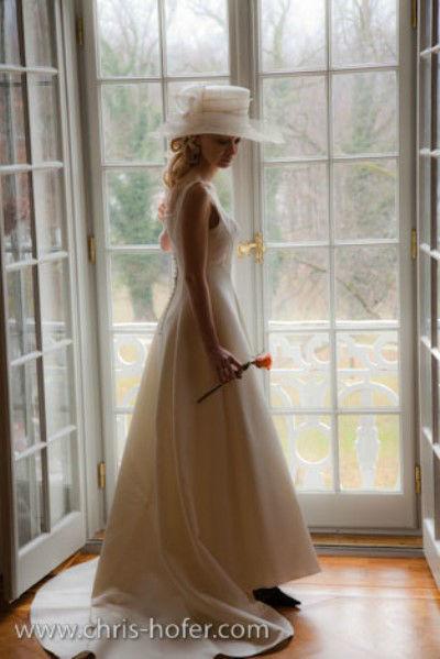 Beispiel: Portrait der Braut, Foto: Chris Hofer Fotografie.
