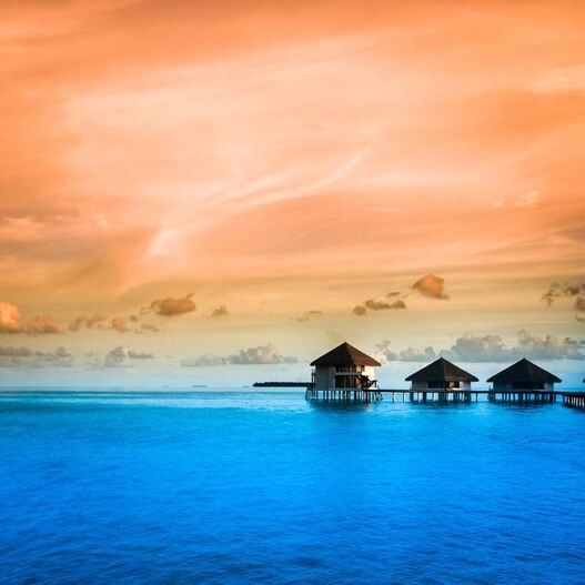 Polinesia  - Moorea Sunset -