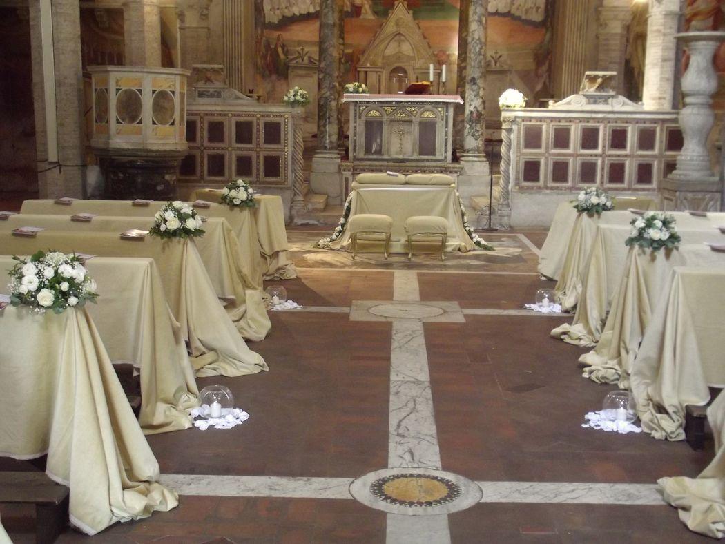 interno chiesa SS Nereo e Achilleo a caracalla