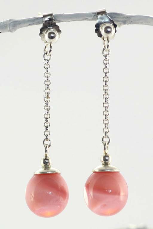 Beispiel: Schmuck - Ohrringe, Foto: Silber und Seide Brautmode.