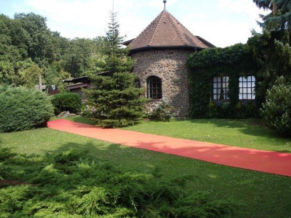 Beispiel: Romantische Gartenanlage, Foto: Landhaus Klosterwald.