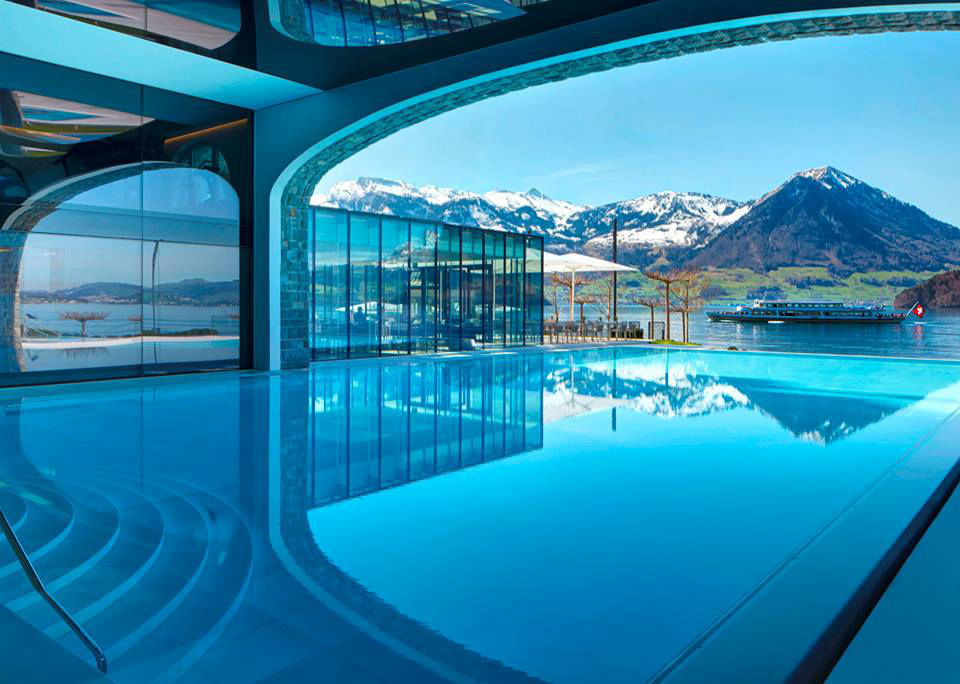 Beispiel: Pool, Foto: Park Hotel Vitznau.