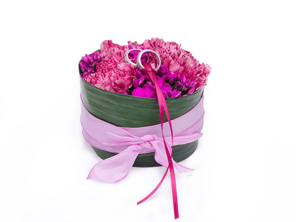Beispiel: Ringkissen, Foto: Blumen Sonn.